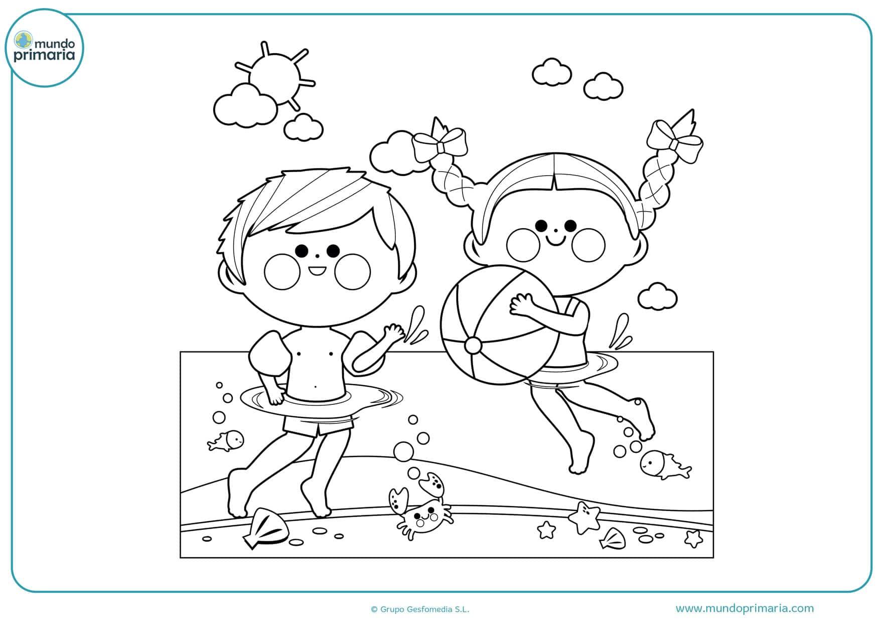 dibujos de personas felices para colorear