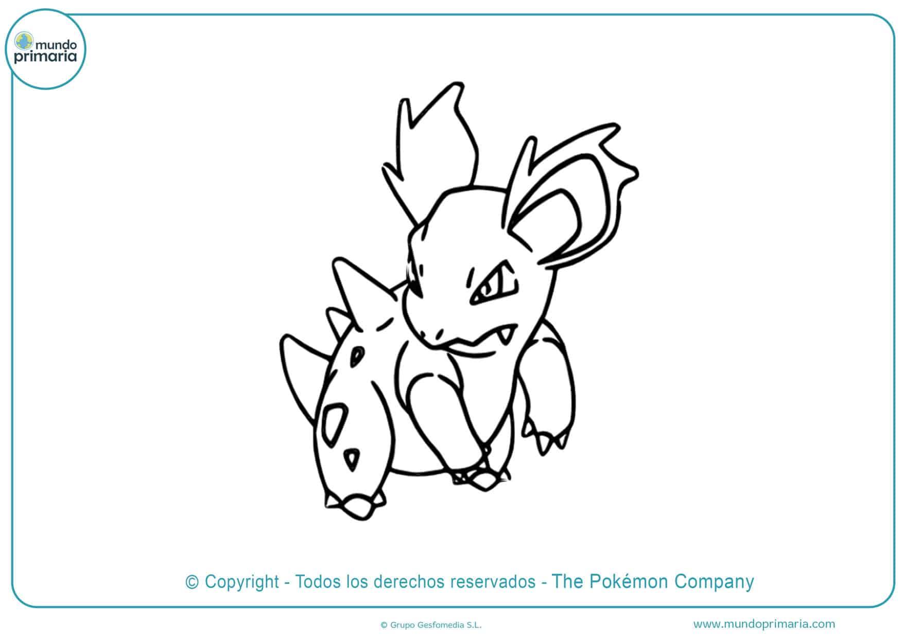 dibujos de pokémon para colorear gratis