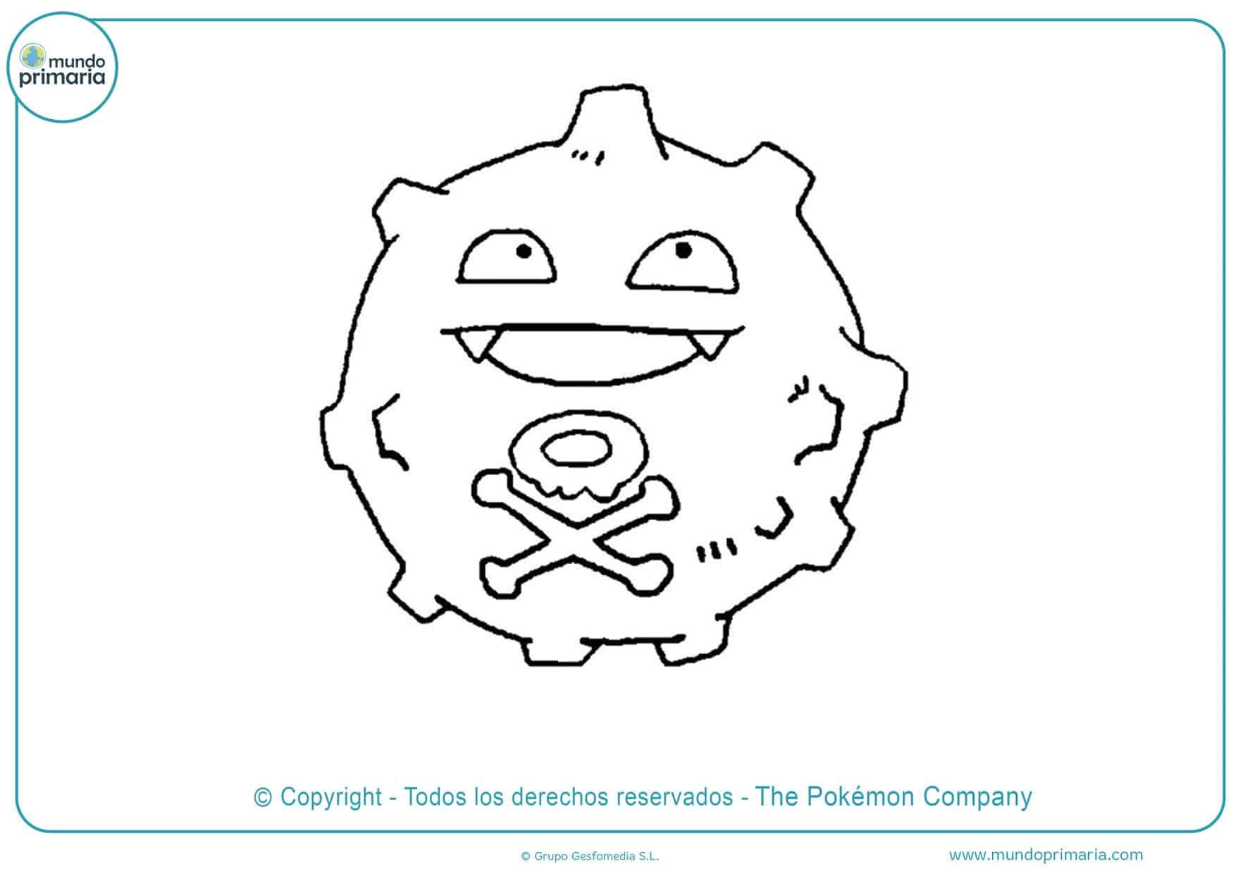 dibujos de pokémon para colorear e imprimir