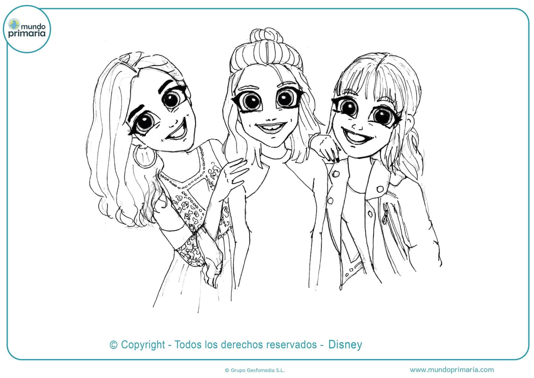 Dibujos De Soy Luna Para Colorear Imprimir Y Pintar
