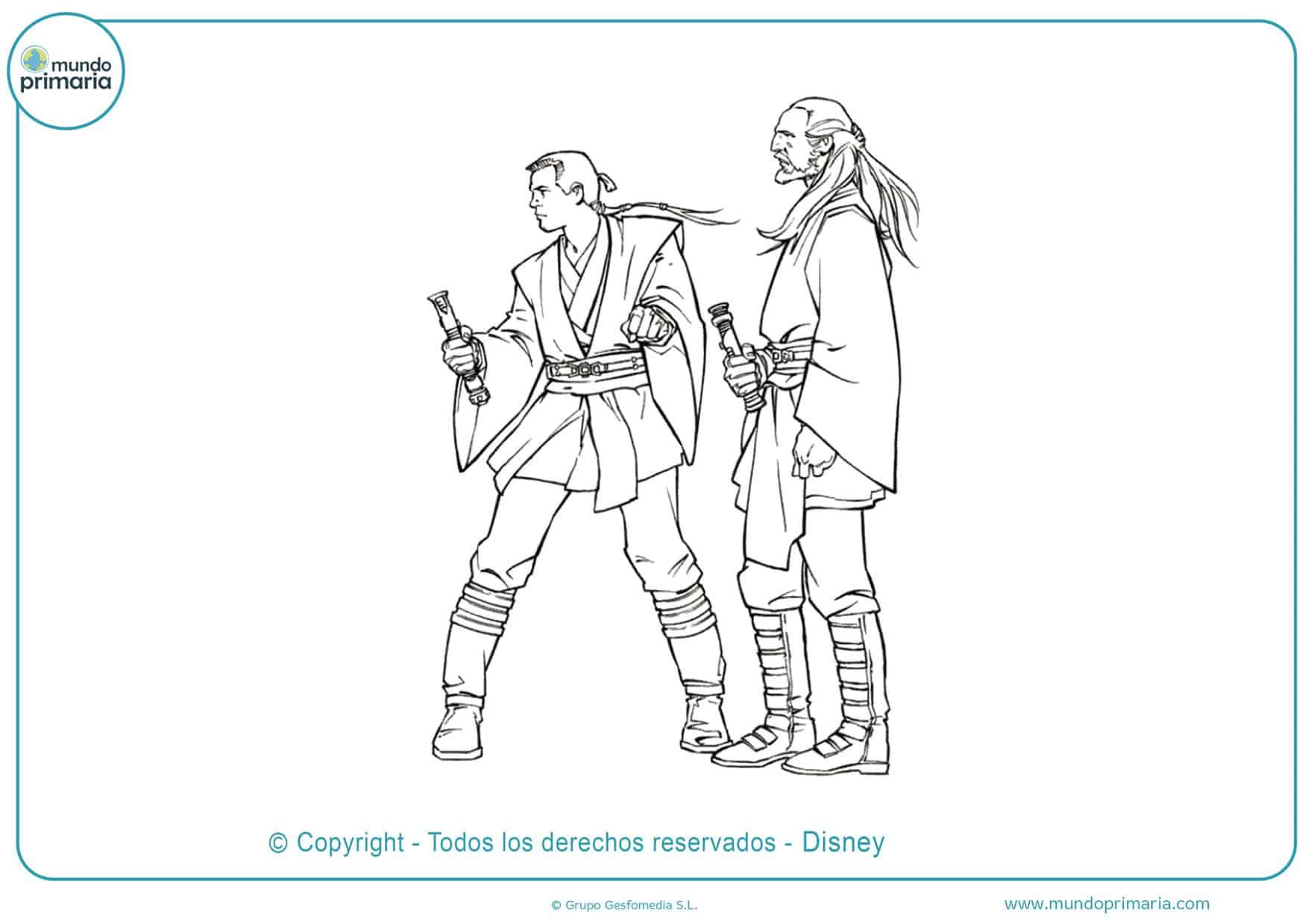 dibujos de star wars para colorear fáciles