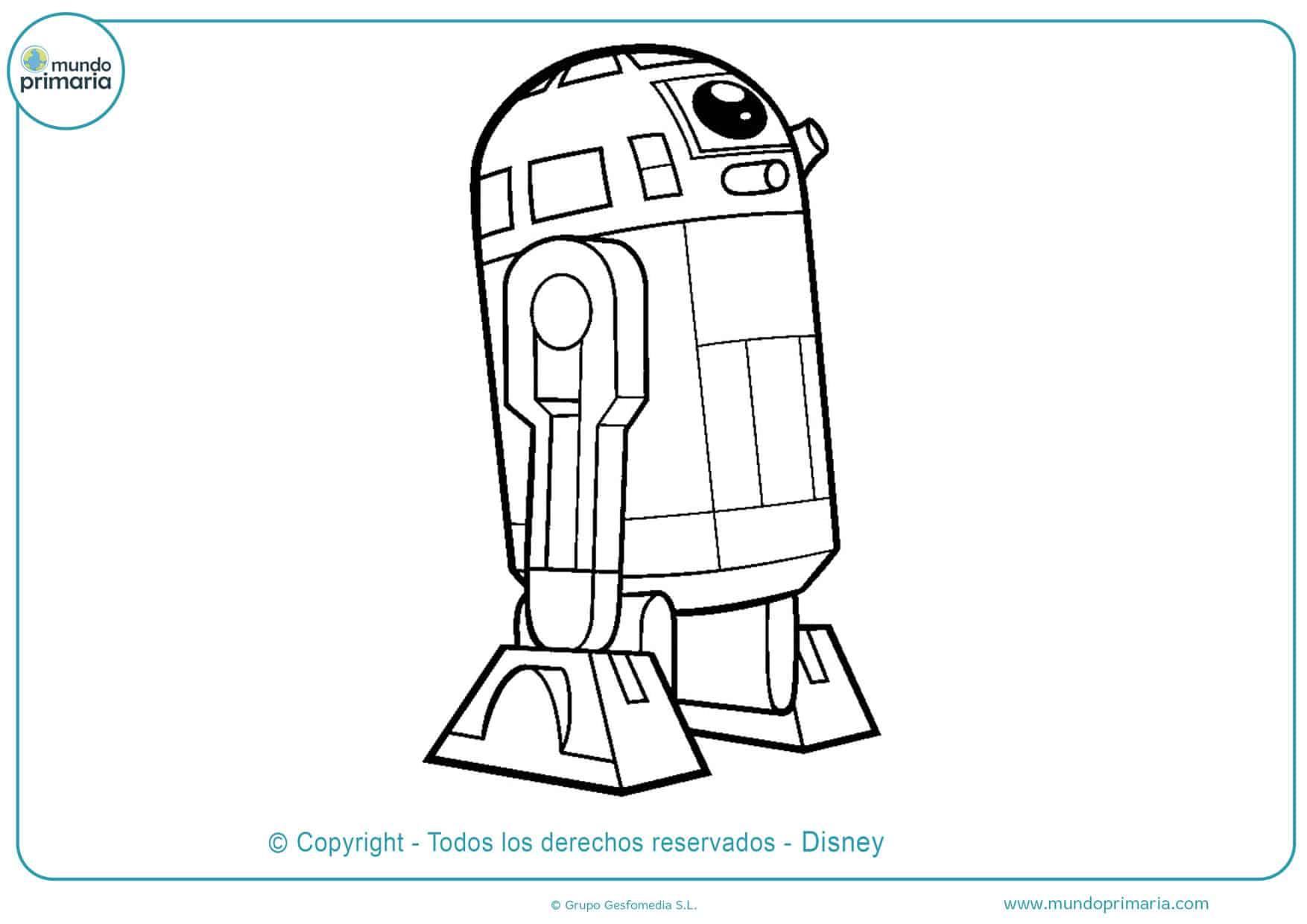 dibujos de star wars para colorear