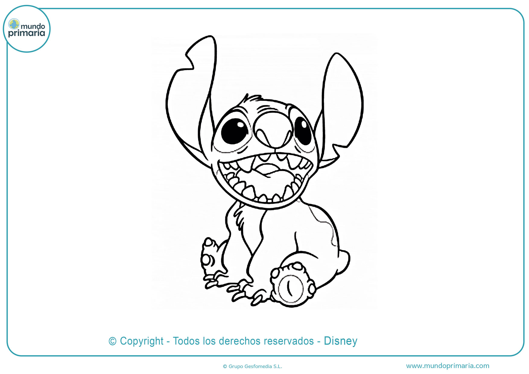 Stitch Dibujos Faciles