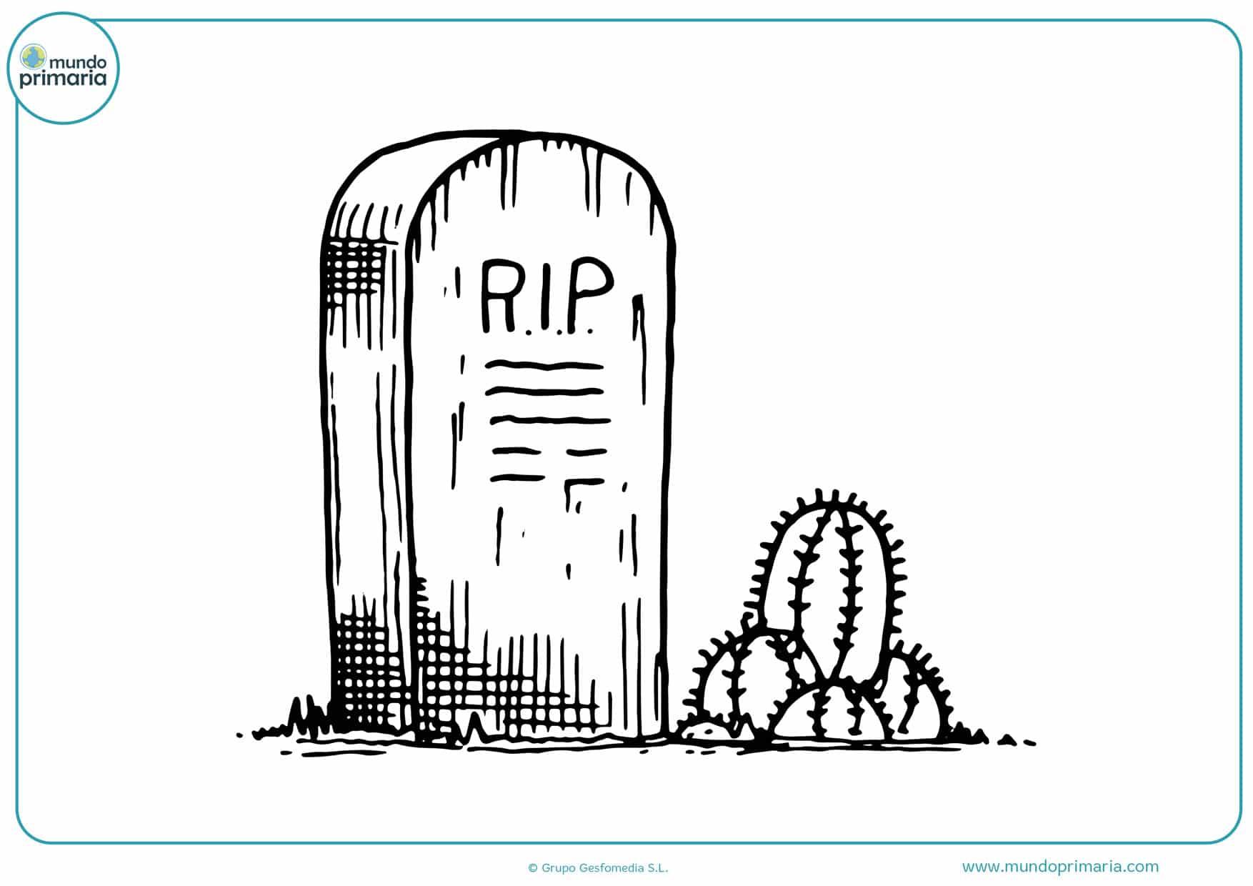 Dibujos De Dia De Muertos Para Colorear Mundo Primaria