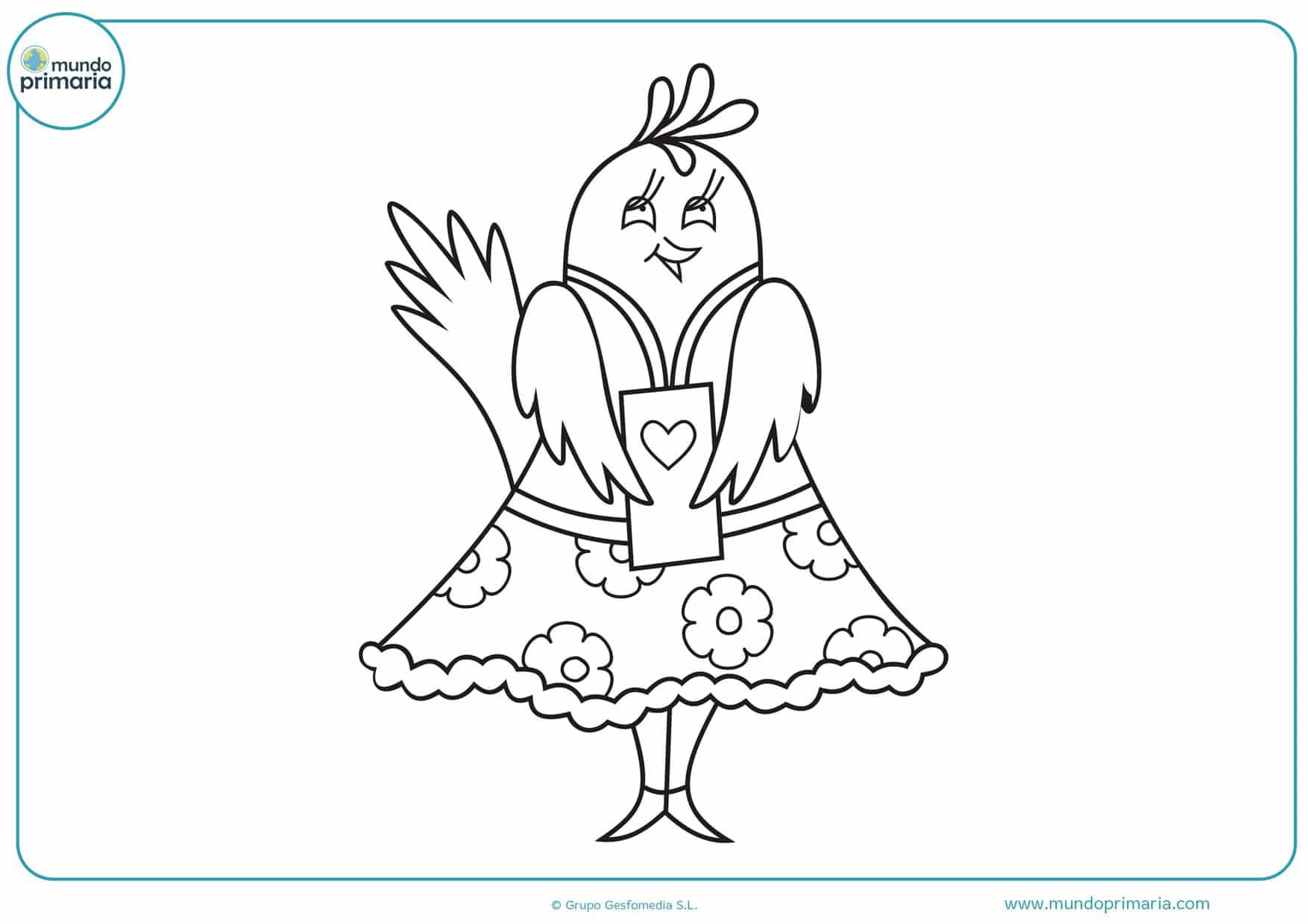 imágenes de dibujos de amor para colorear