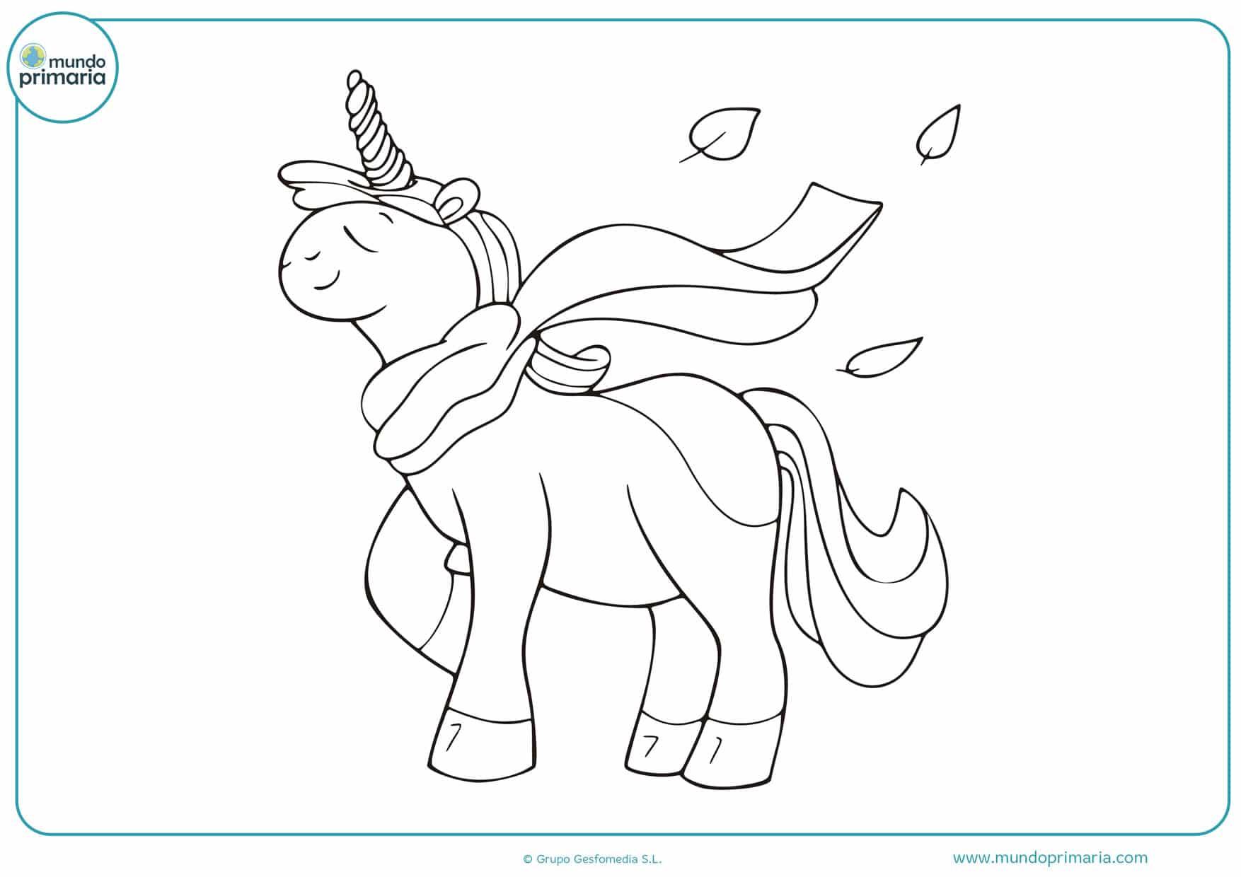 imágenes para colorear de unicornios gratis