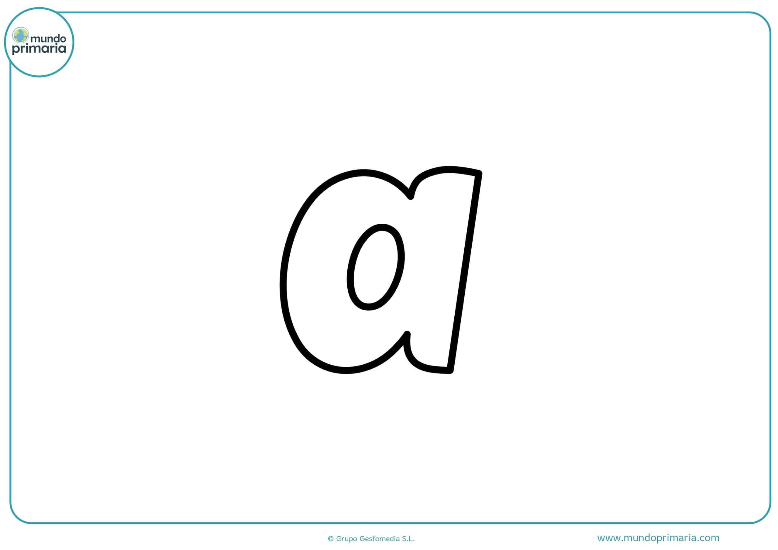 Letras Para Colorear Abecedario Mayúsculas Y Minúsculas