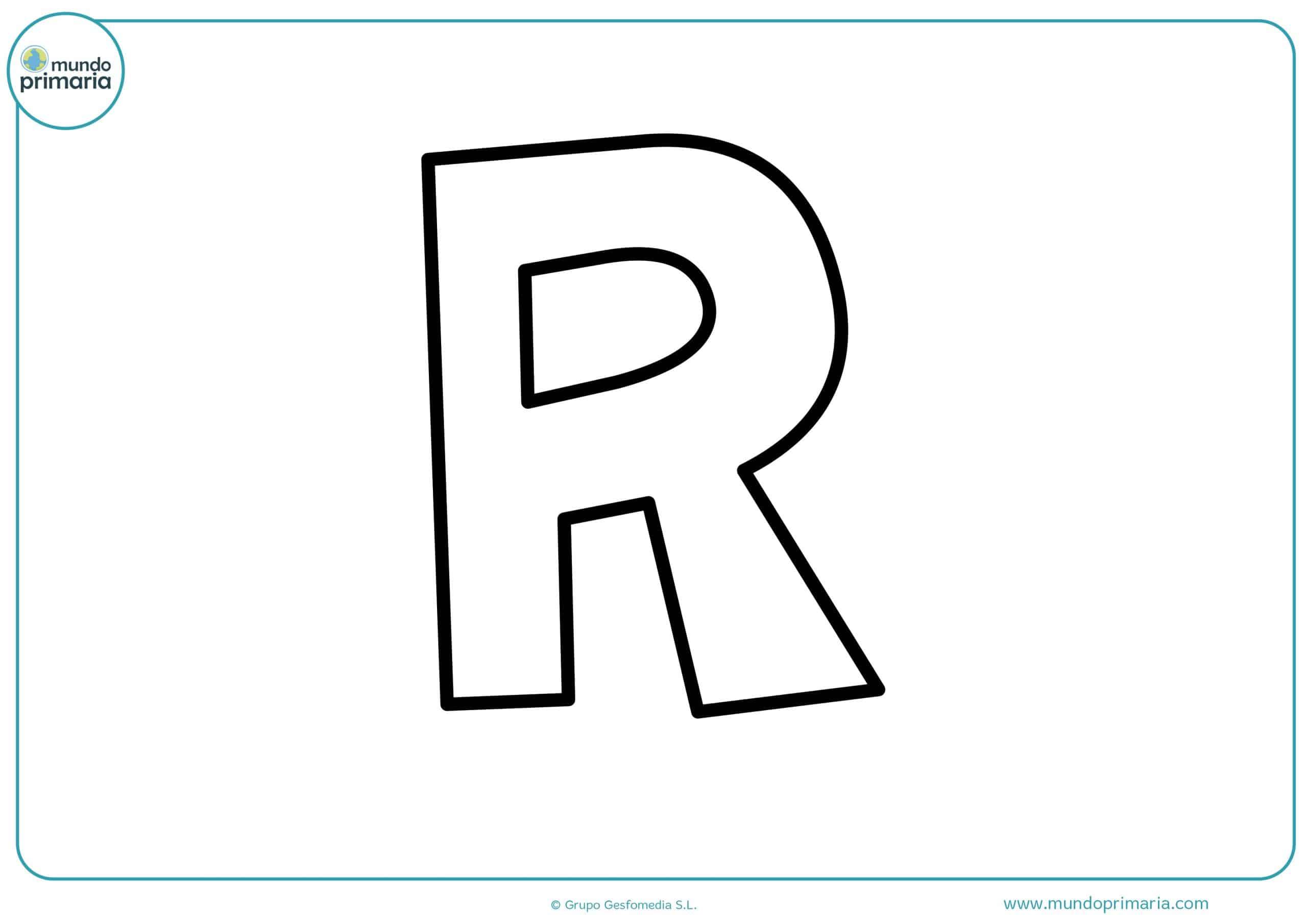 Letras para Colorear, dibujos del abecedario