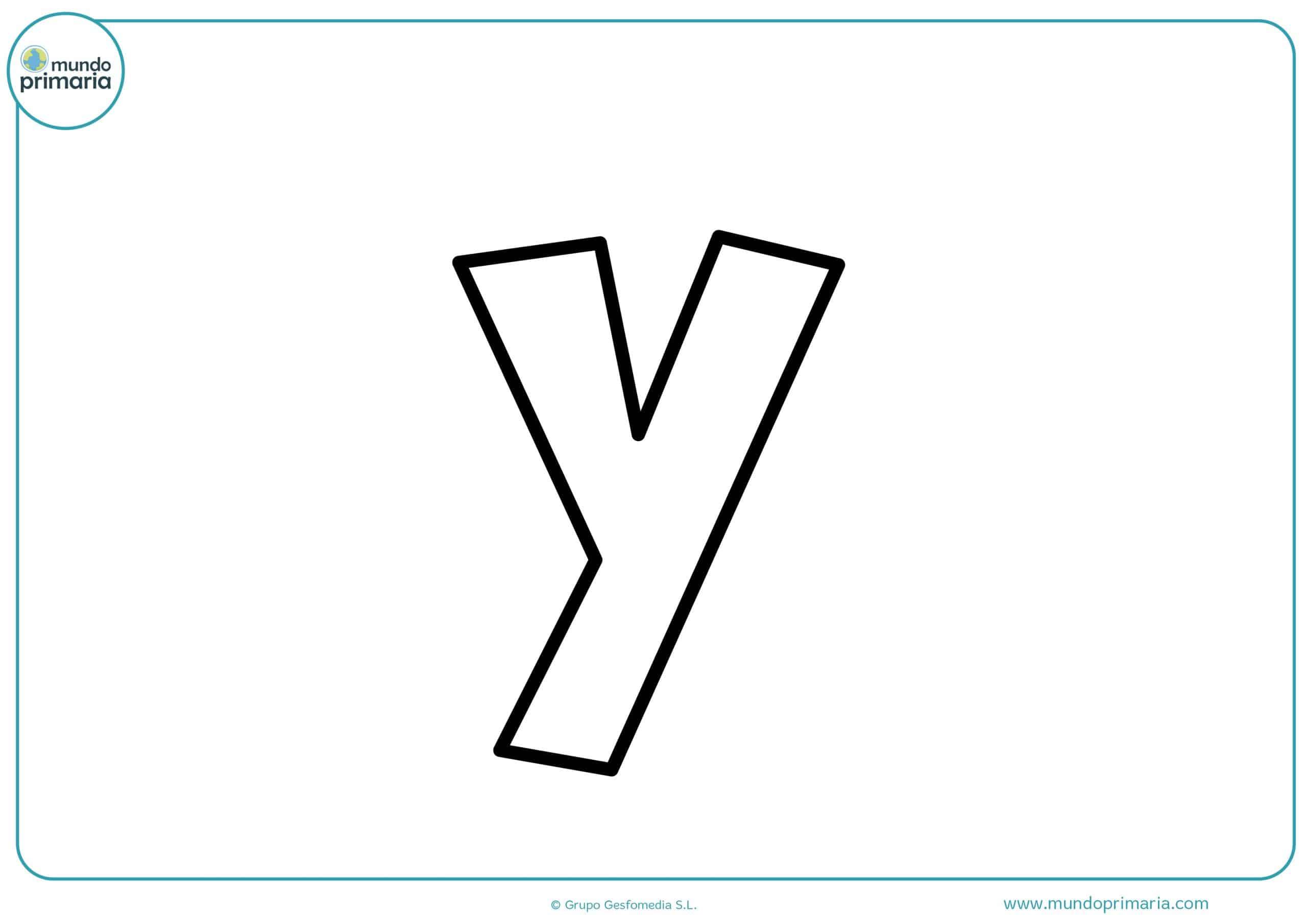 dibujos de letras y minúsculas para colorear