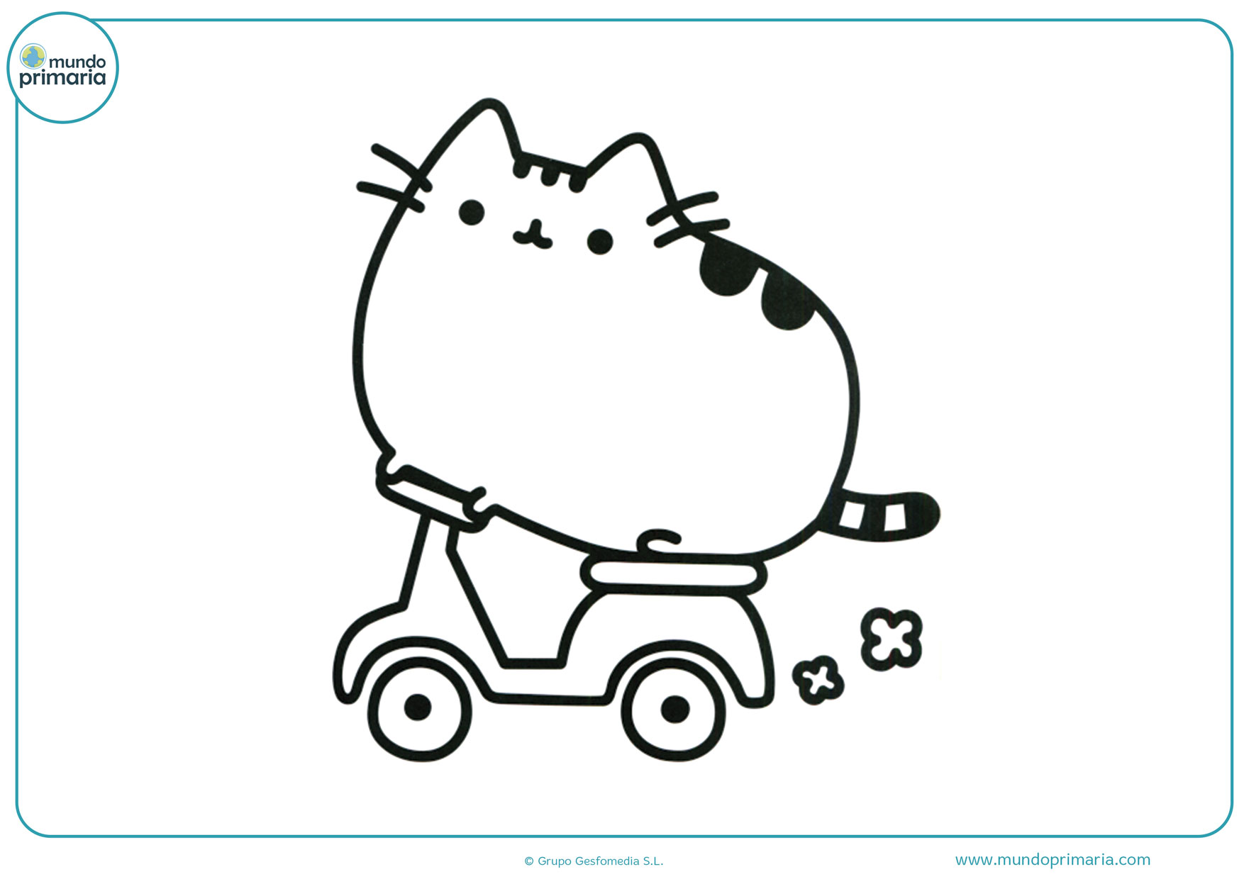dibujos kawaii para colorear animales