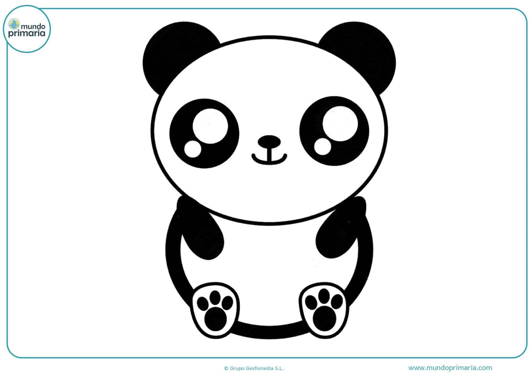 dibujos para colorear de animales kawaii