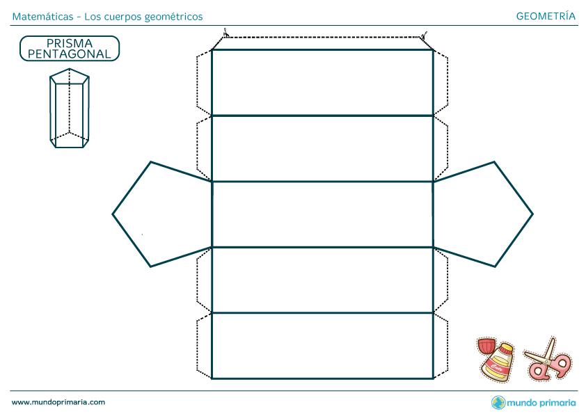 Cuerpos Geometricos Para Imprimir Ejercicios Area Y Volumen