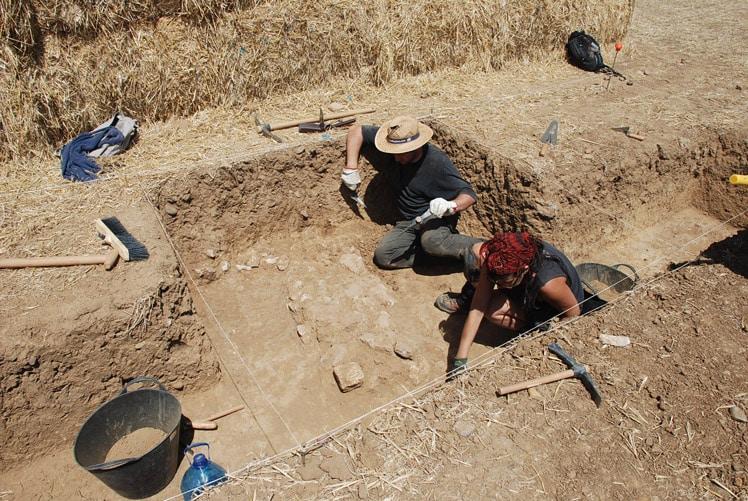 excavaciones prehistoria