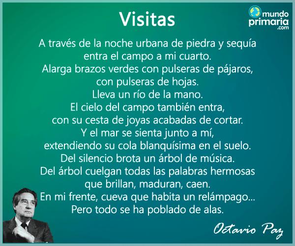 Poemas De Octavio Paz Cortos De Amor Y Más
