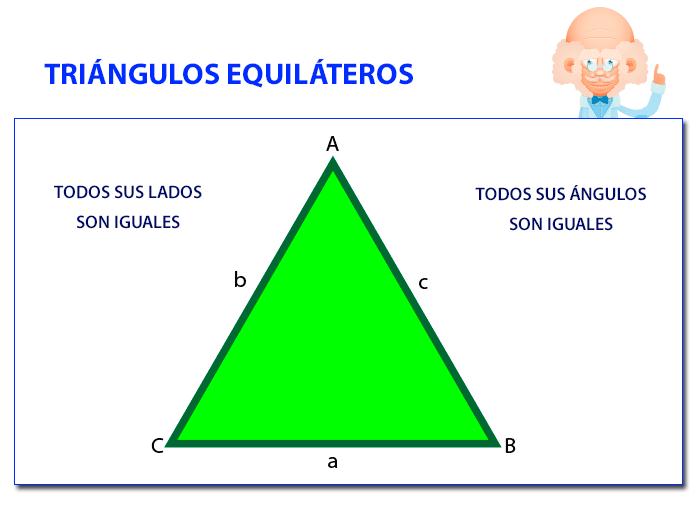 Triángulos equiláteros