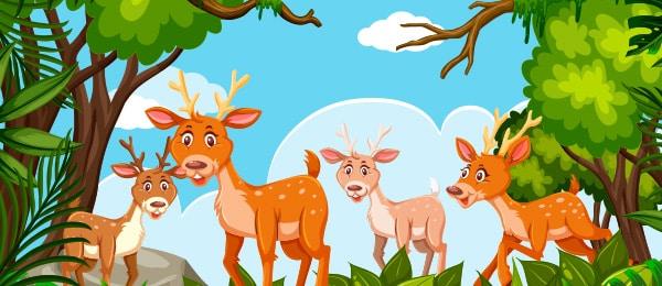 Cuento de Bambi para niños