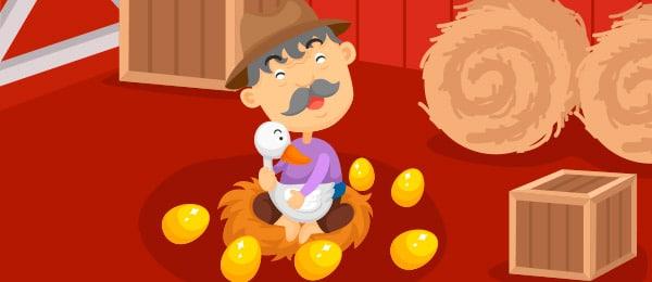 cuento de El Ganso de Oro para Primaria