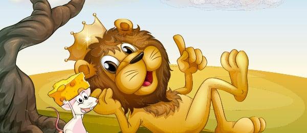 Cuento el León y el Ratón