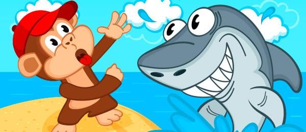 Cuento Mono Tiburon