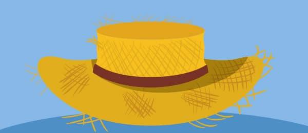 Cuento Seis Jizos Sombrero Paja