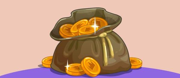 Cuento Bolsa Monedas