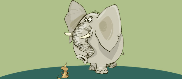 Cuento the mice and the elephants
