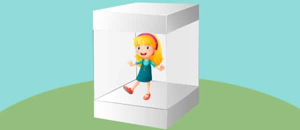 Cuento Nina Caja Cristal