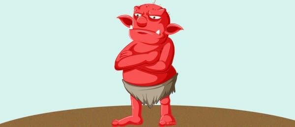 Cuento Ogro Rojo