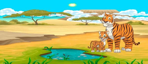 Cuento Tigre Balaba