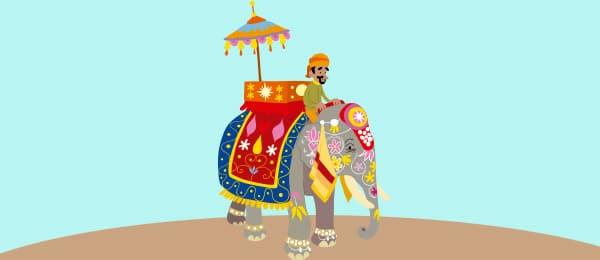Cuento Tres Ciegos Elefante