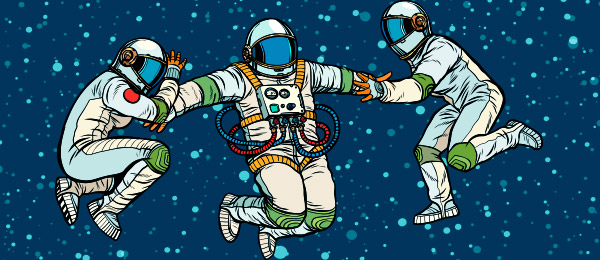 Cuento Tres Cosmonautaas