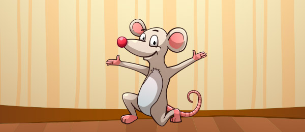 Cancion There Was A Little Mouse