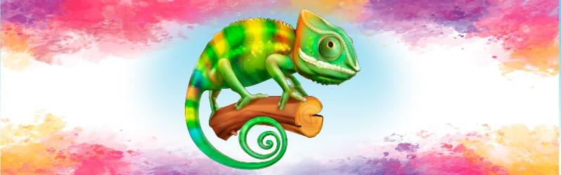 Fábula de Augusto Monterroso El camaleón que finalmente no sabía qué ponerse