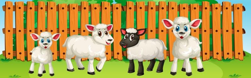 Fábula de Augusto Monterroso La oveja negra