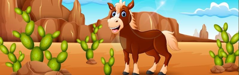 Fábula corta El burro y la peña de Agustín Príncipe