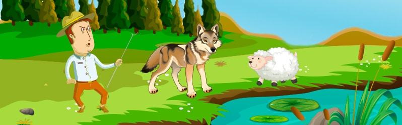 Fábula de Fedro El lobo y el cordero