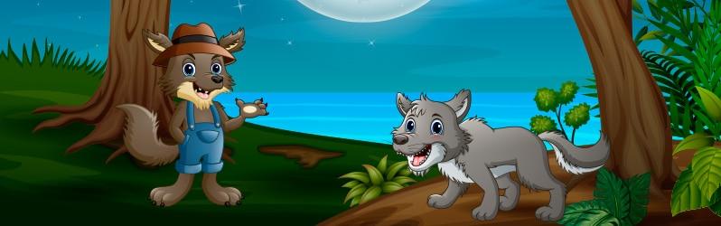 Fábulas largas El lobo murmurador