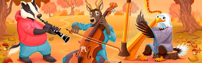 Fábulas largas La música de los animales