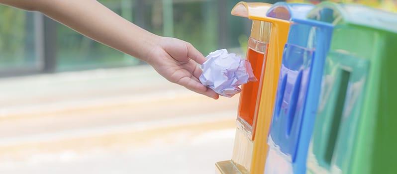 Reciclaje De Papel Y Cartón Niños