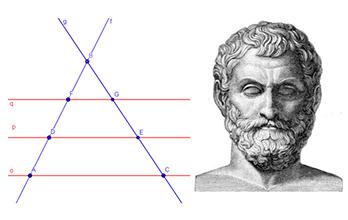 Teorema Thales Mini
