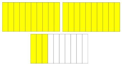 Fracciones y números decimales Primaria