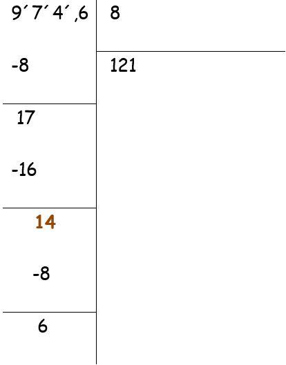 Partes de un número decimal para niños Primaria