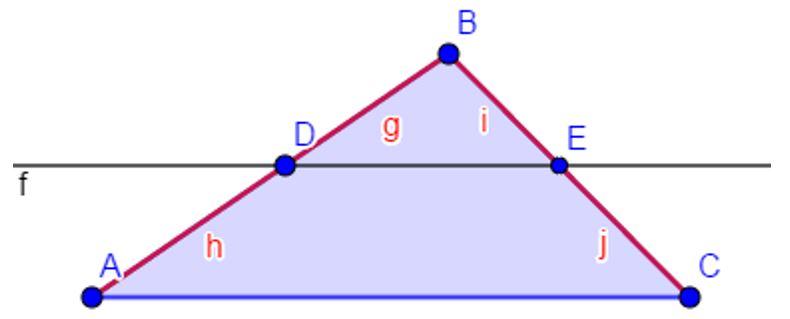 Teorema Thales para Primaria