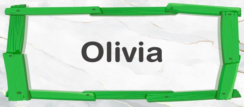 Cuál es el significado de Olivia