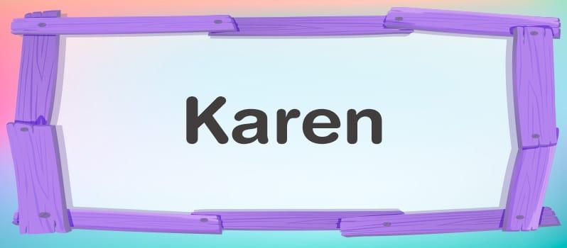 Karen significado