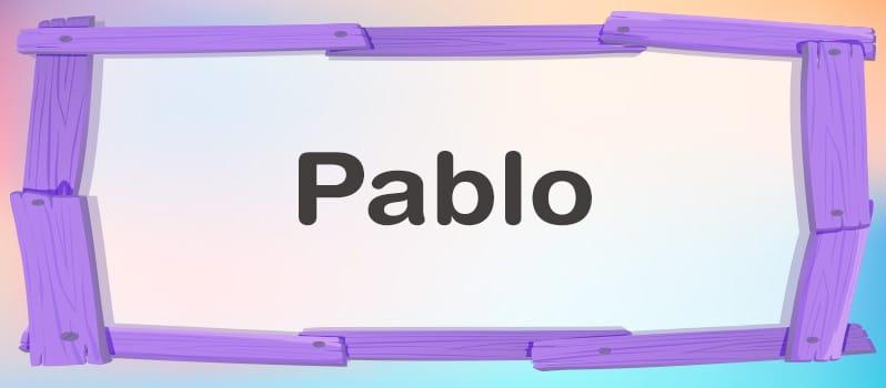 Pablo significado