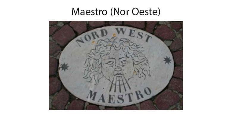 Puntos Cardinales Maestro Noroeste
