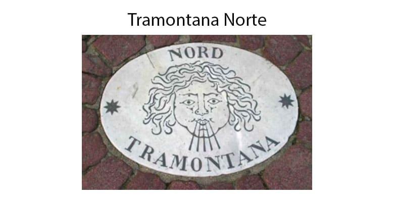 Puntos Cardinales Tramontana Norte
