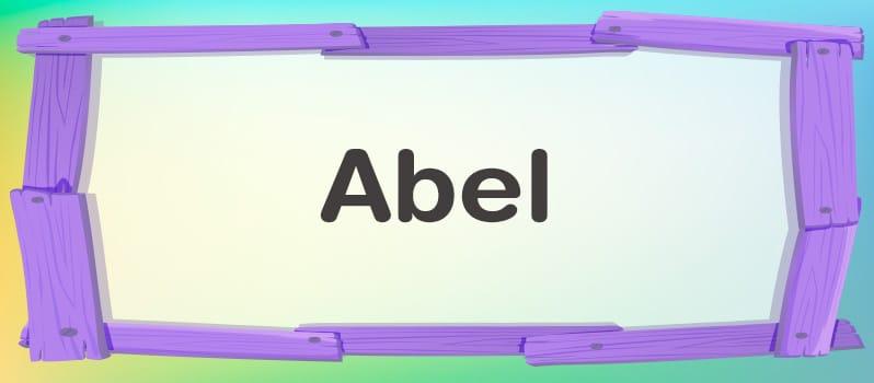 Qué significa Abel