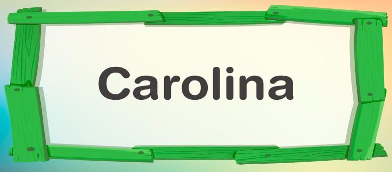 Carolina significado